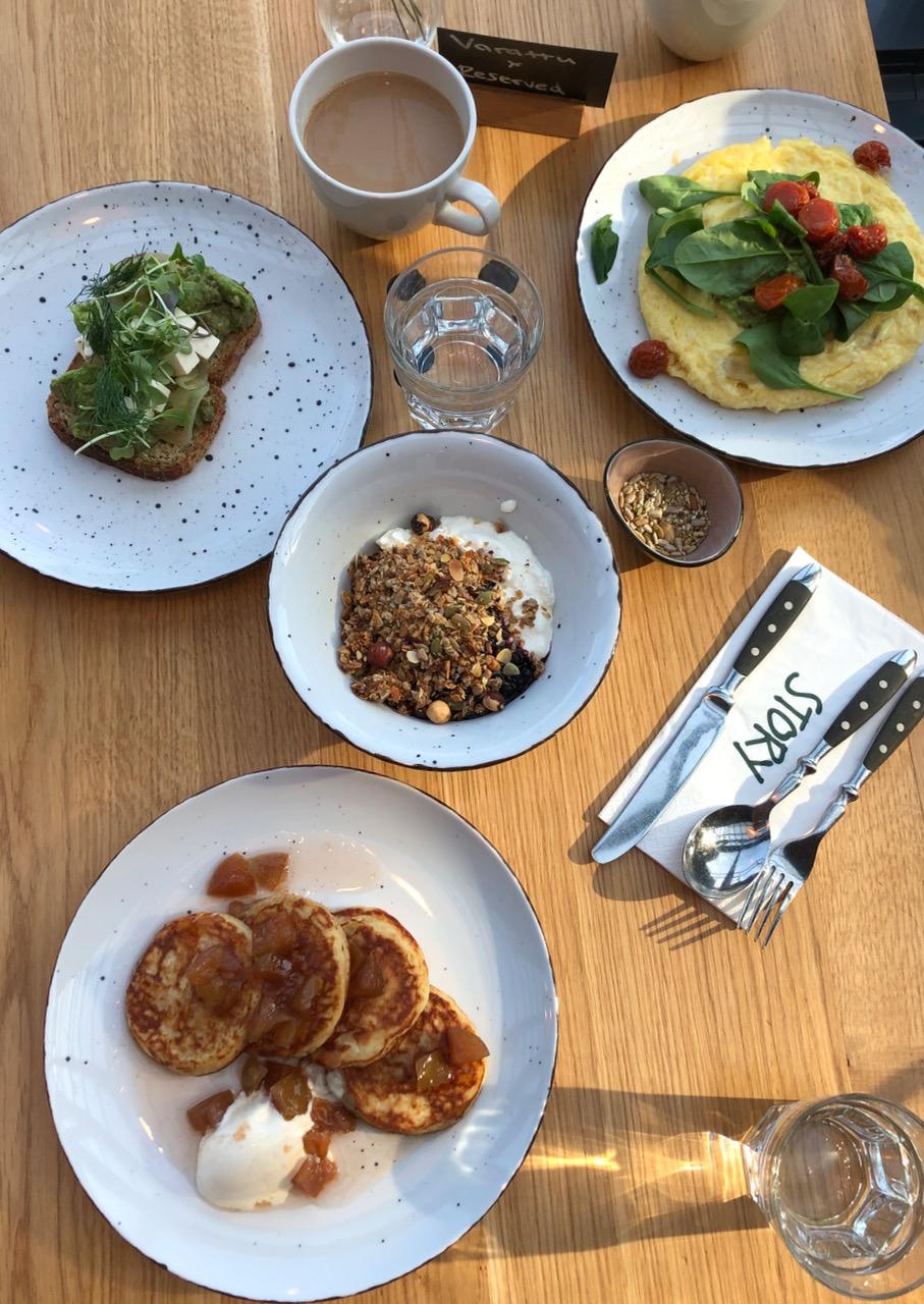 Story restaurant gluteeniton brunssi